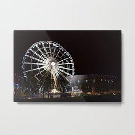 Liverpool By Night Metal Print