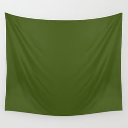 Olive Green Wall Tapestry