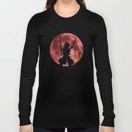 Anime Moon Inspired Shirt Long Sleeve T-shirt