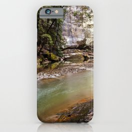 water and rock iPhone Case