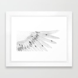 Angel Wing or Living Creature Wing Framed Art Print