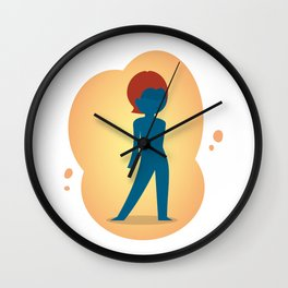 The most chameleonic of the X-men: Little Mystique Wall Clock