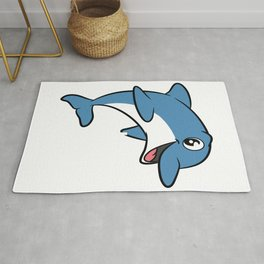 Love dolphins, I love dolphins T-shirt Dolphin are the animals, the mammals. Love Dolphins Rug