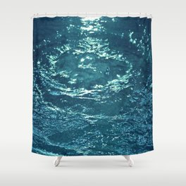 Gurgling Water Shower Curtain