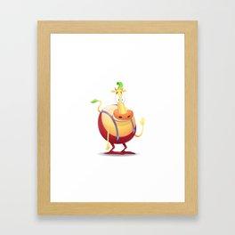 Heffer Framed Art Print