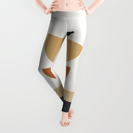 Celestial Star Pattern lines with the shapes XII Leggings