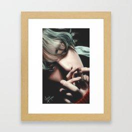 Happy Birthday V Framed Art Print