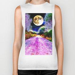 Moonlight Pathway Biker Tank