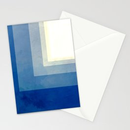 Square Sun Stationery Cards