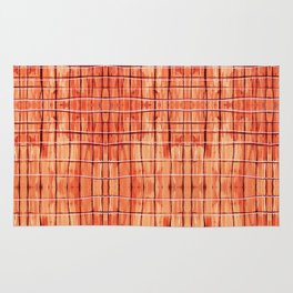 Red Chile Plaid Rug