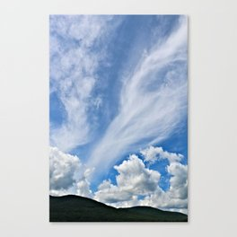Cloud Path to the Milky Way Canvas Print