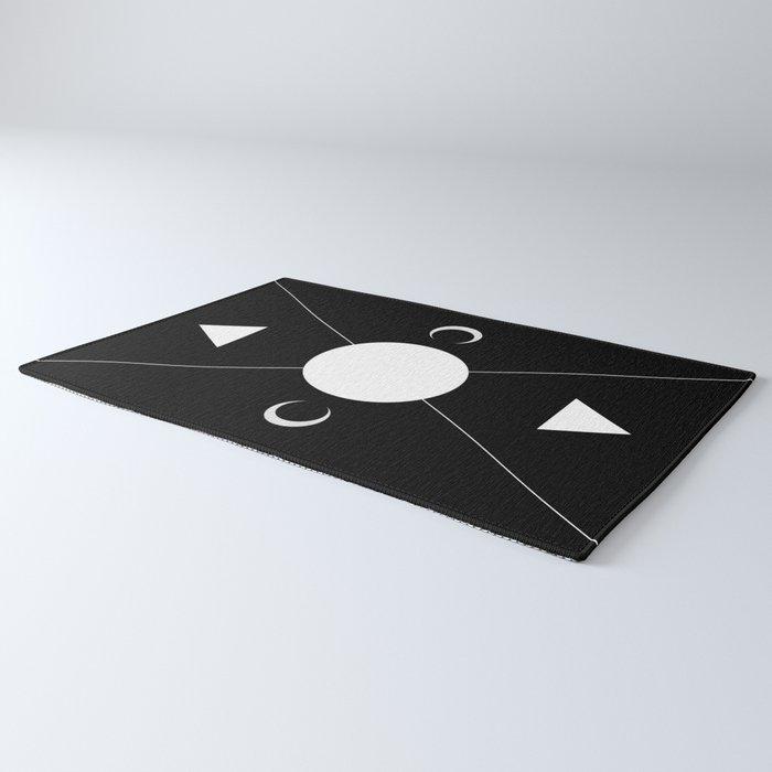 minimalist tarot deck Rug