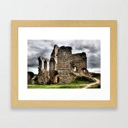 Corfe Castle, Dorset, UK Framed Art Print