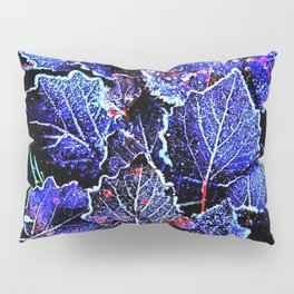 Rime Leaves Abstract Pillow Sham