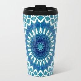 Sea Green Mandala Travel Mug