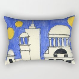 Faraway, long time a go_4 Rectangular Pillow