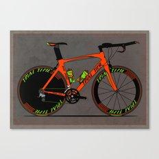 Time Trial Bike Canvas Print