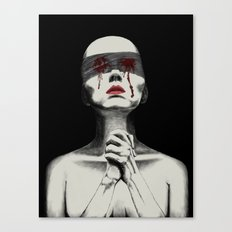 Pray for your sin Canvas Print
