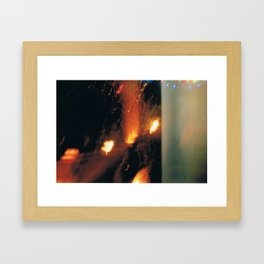 Chiminea Framed Art Print