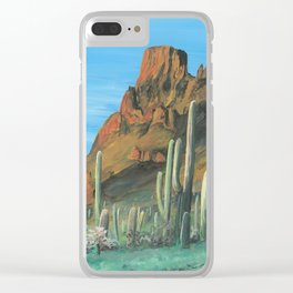 Arizona Landscape Clear iPhone Case