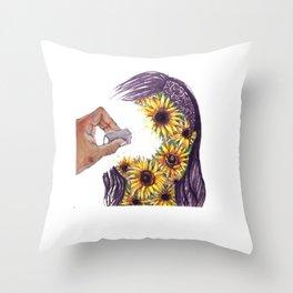 Clean Slate Throw Pillow