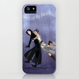 Light Up My Dark Side iPhone Case