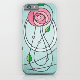 Mackintosh Rose iPhone Case