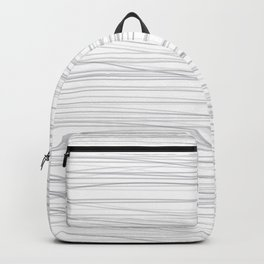 Wave gray lines Backpack