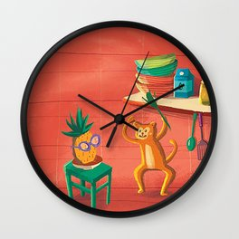 Funny Kitchen Wall Clock