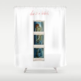 The Wall  Shower Curtain