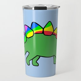 Stegocorn (Unicorn Stegosaurus) Travel Mug