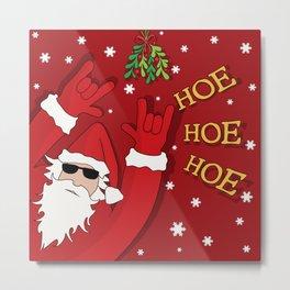Bad Santa Metal Print