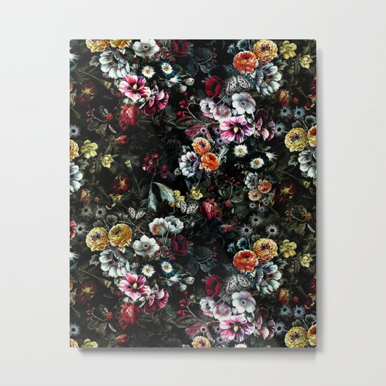 Night Garden XIV Metal Print