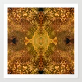 FiberPrint No. 8 Combustion Art Print