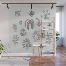 Home is where the plants are Wall Mural