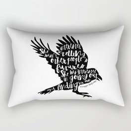 Other People's Futures - The Raven Boys Rectangular Pillow