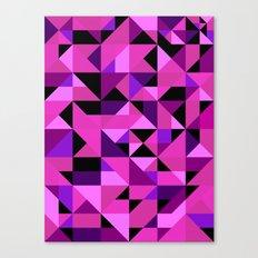 Green Machine / Pattern #8 Canvas Print
