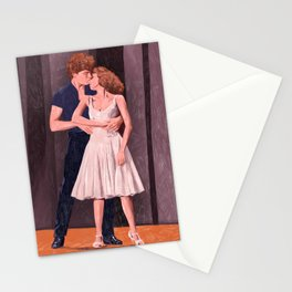 Dirty Dancing - Pencil illustration Fan Art Stationery Cards