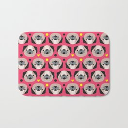 Pug Lovers I Bath Mat