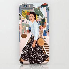traveller iPhone Case
