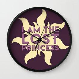 Lost Princess Wall Clock