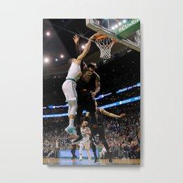 JaysonTatum Bost-on Celtics Dunk - POSTER 24x36 Metal Print