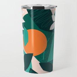 Wild oranges Travel Mug