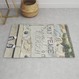 May Peace Prevail on Earth Rug