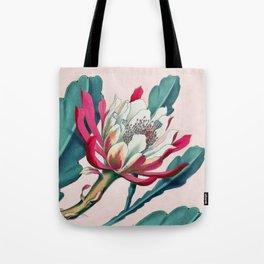 Flowering cactus IV Tote Bag