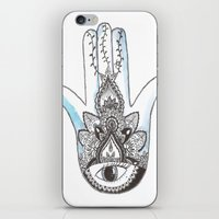 henna iPhone & iPod Skins featuring Henna by Line H H