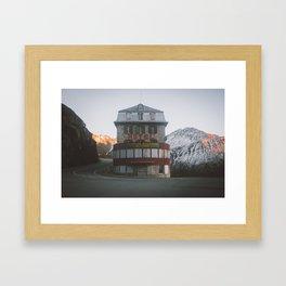 The Beauty Of Abandoned Framed Art Print