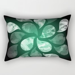 Abstract Water Drops XXX Rectangular Pillow