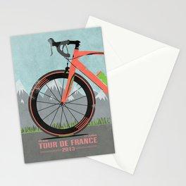 Tour De France Bike Stationery Cards