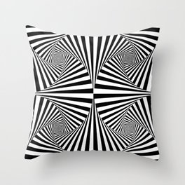 Abstract Geometric Shapes Pattern Throw Pillow